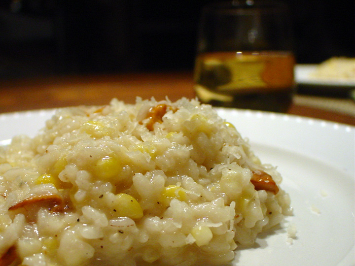 Corn-&-Chanterelle-Risotto